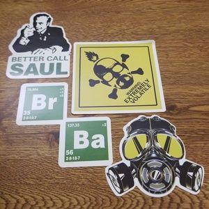 Breaking Bad-Type Stickers
